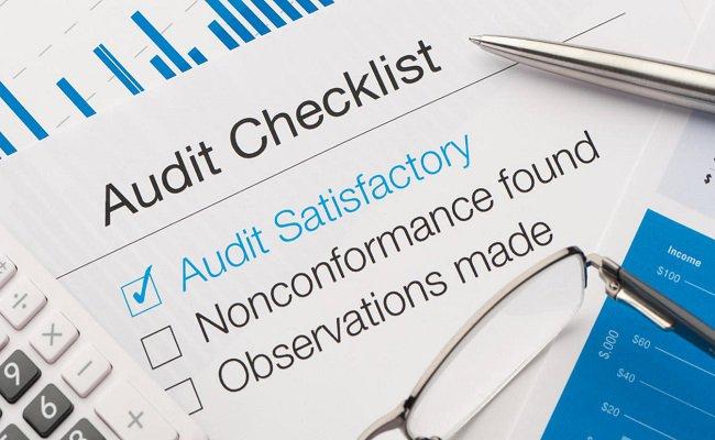 audit check list